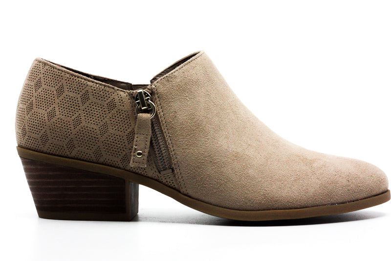 Dr. Scholl's American Lifestyle Collection | Brief Suede Ankle Booties