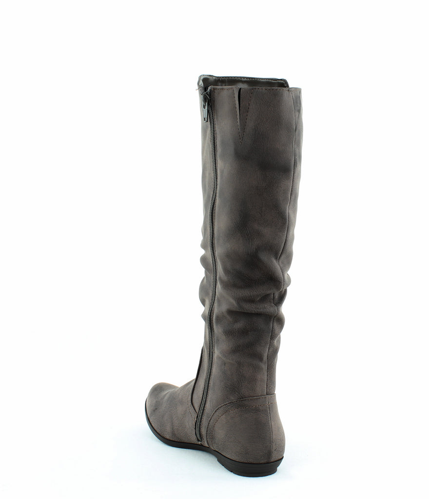 Yieldings Discount Shoes Store's Felisa Tall Boot by Cliffs By White Mountain in Brown/Smooth