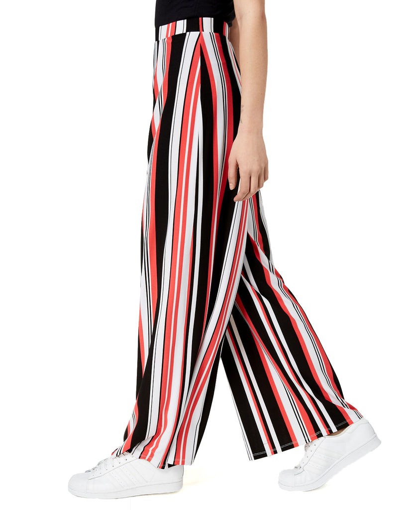 Yieldings Discount Clothing Store's Varsity Garden Striped Pull-On Pants by Bar III in Perfect Stripe
