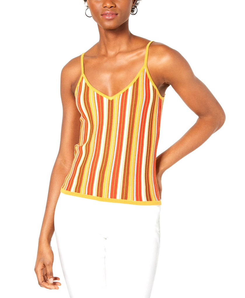 Yieldings Discount Clothing Store's Katrina Rainbow Knit Top by Lucy Paris in Rainbow