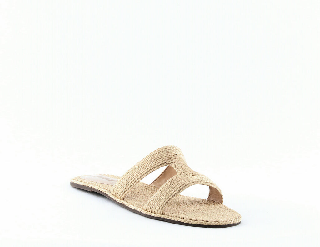 Yieldings Discount Shoes Store's Tammya Slide Sandals by Schutz in Palha