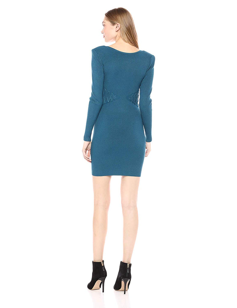 Guess | LS Reversible Front Zip Dress