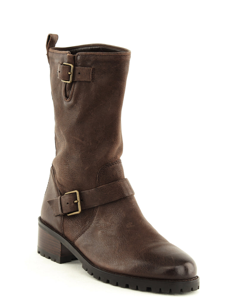 Yieldings Discount Shoes Store's Hemlock Boot by Cole Haan in Chestnut Leather