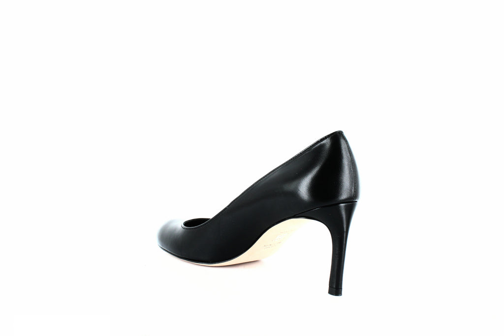 Yieldings Discount Shoes Store's Moody Pumps by Stuart Weitzman in Black