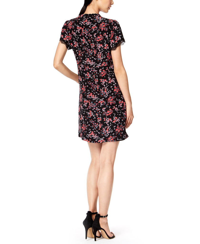 Yieldings Discount Clothing Store's Floral-Print Shift Dress by Nanette Lepore in Black Multi