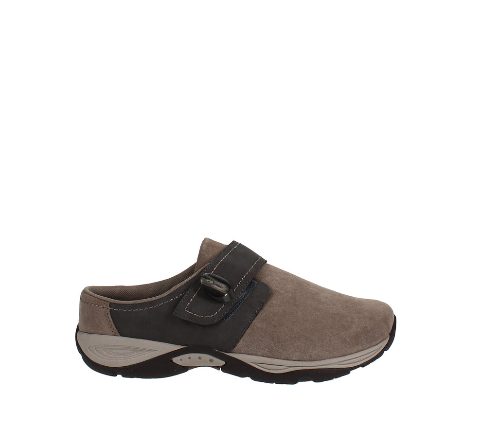 Yieldings Discount Shoes Store's Equip Mules by Easy Spirit in Taupe
