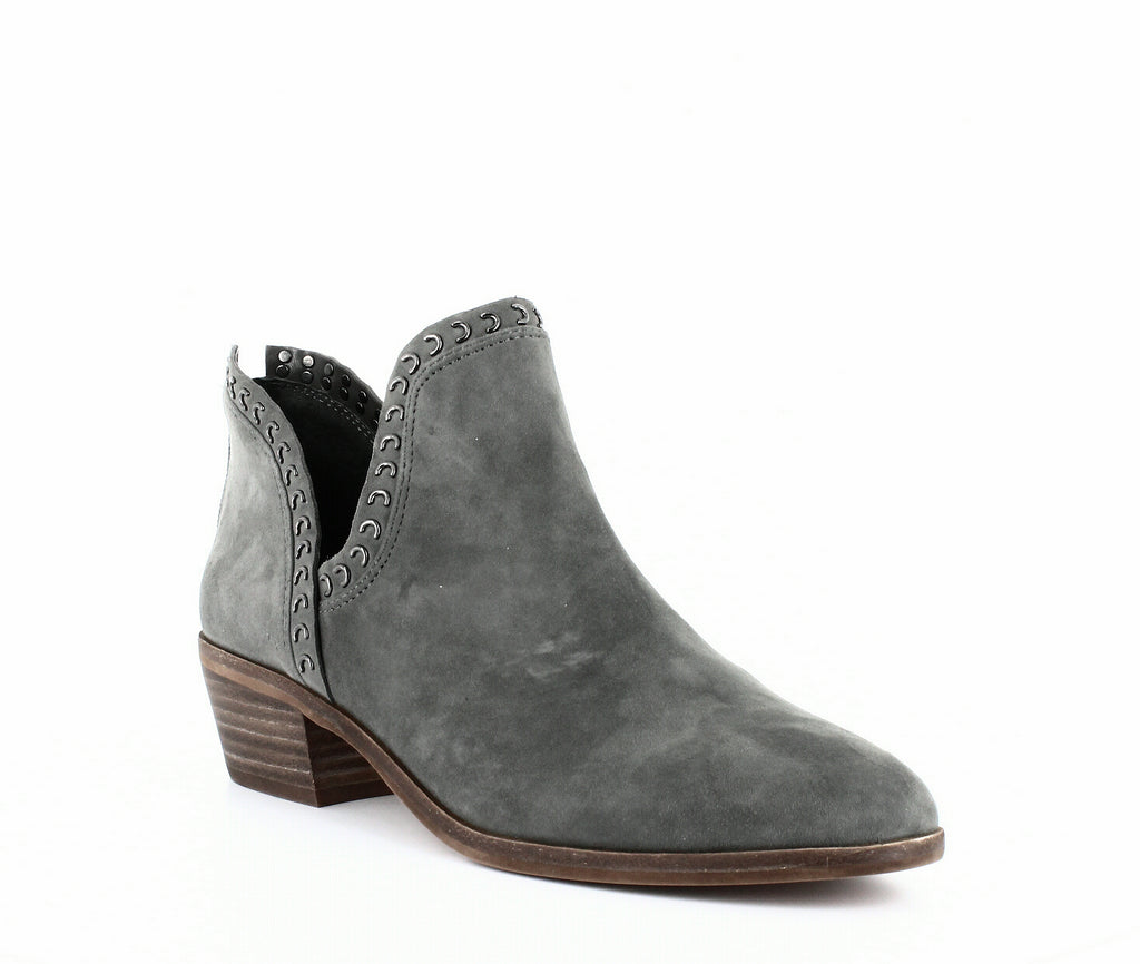 Yieldings Discount Shoes Store's Prafinta Ankle Bootie by Vince Camuto in Graystone