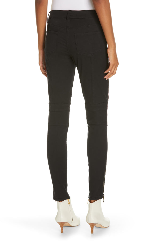 Yieldings Discount Clothing Store's Adorea Ankle Zip Jeans by Joie in Cavier