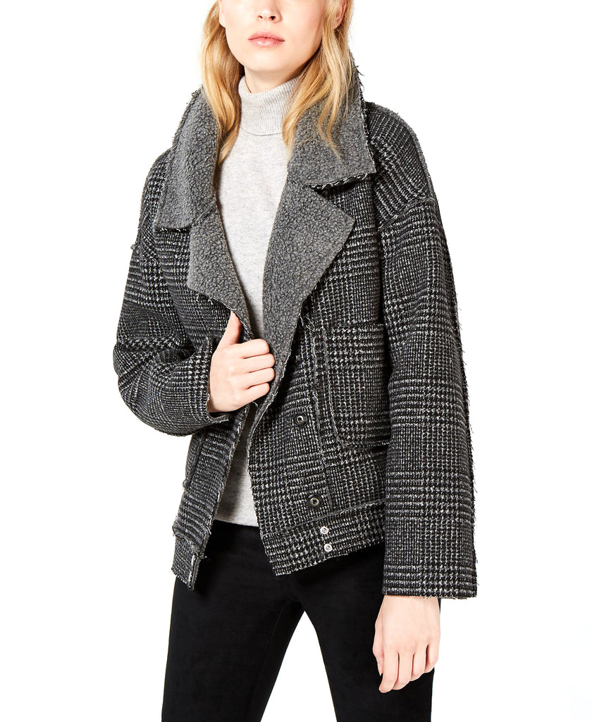 Yieldings Discount Clothing Store's Plaid Jacket by Sage in Grey