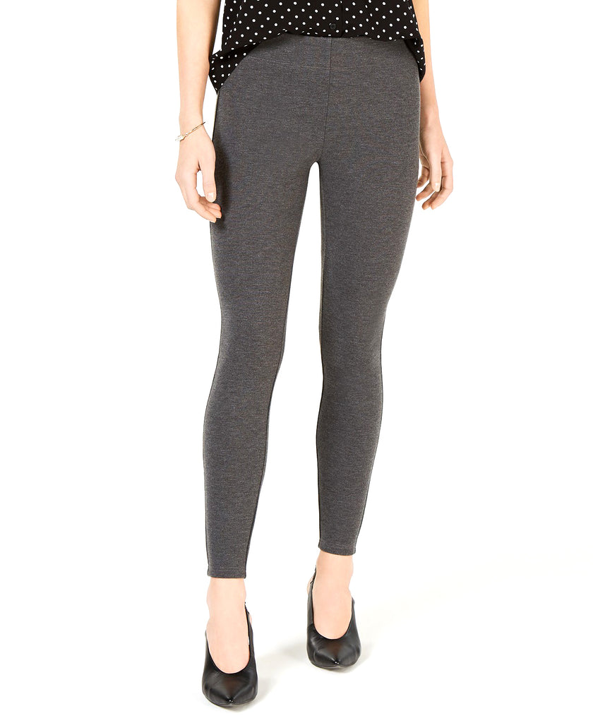Yieldings Discount Clothing Store's Pull-On Skinny Pants by Maison Jules in Heather Grey