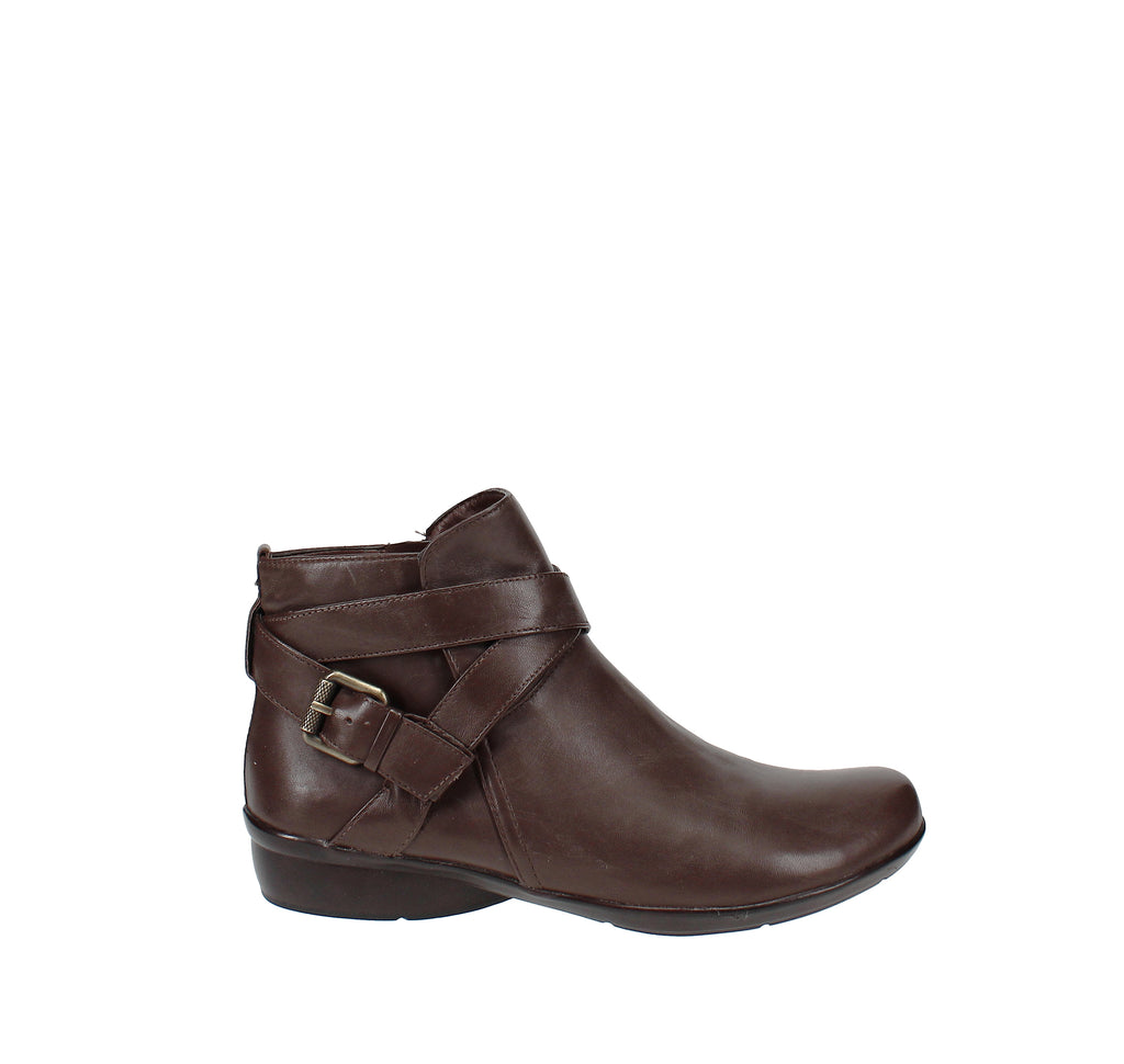 Yieldings Discount Shoes Store's Cassandra Booties by Naturalizer in Brown