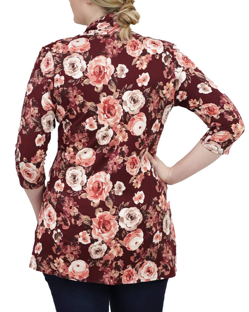 Yieldings Discount Clothing Store's Lori Printed Bellini by Kiyonna in Blossom Print