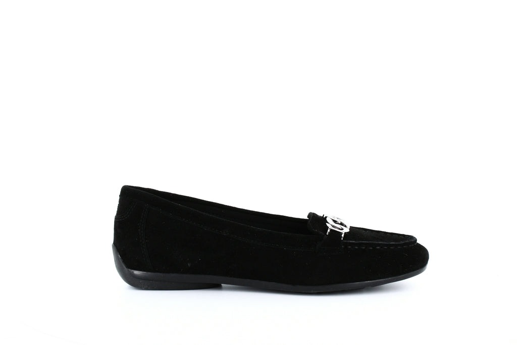 Yieldings Discount Shoes Store's Antiria Loafers by Easy Spirit in Black