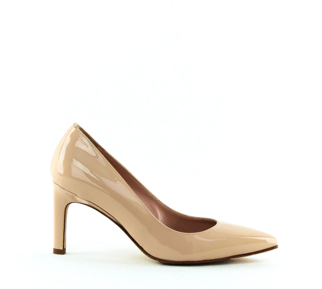 Yieldings Discount Shoes Store's Gabriela Pumps by Taryn Rose in Nude Patent