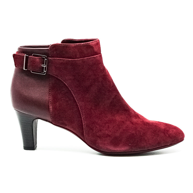 Yieldings Discount Shoes Store's Viollet Dress Booties by Alfani in Mulberry