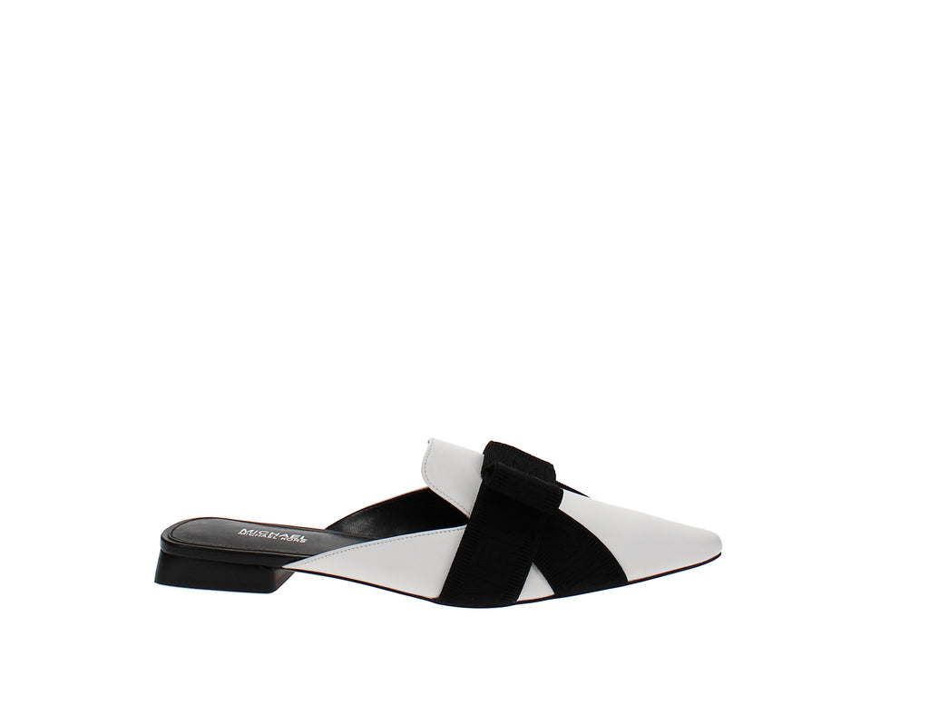 Yieldings Discount Shoes Store's Ames Slides by MICHAEL Michael Kors in Optic White