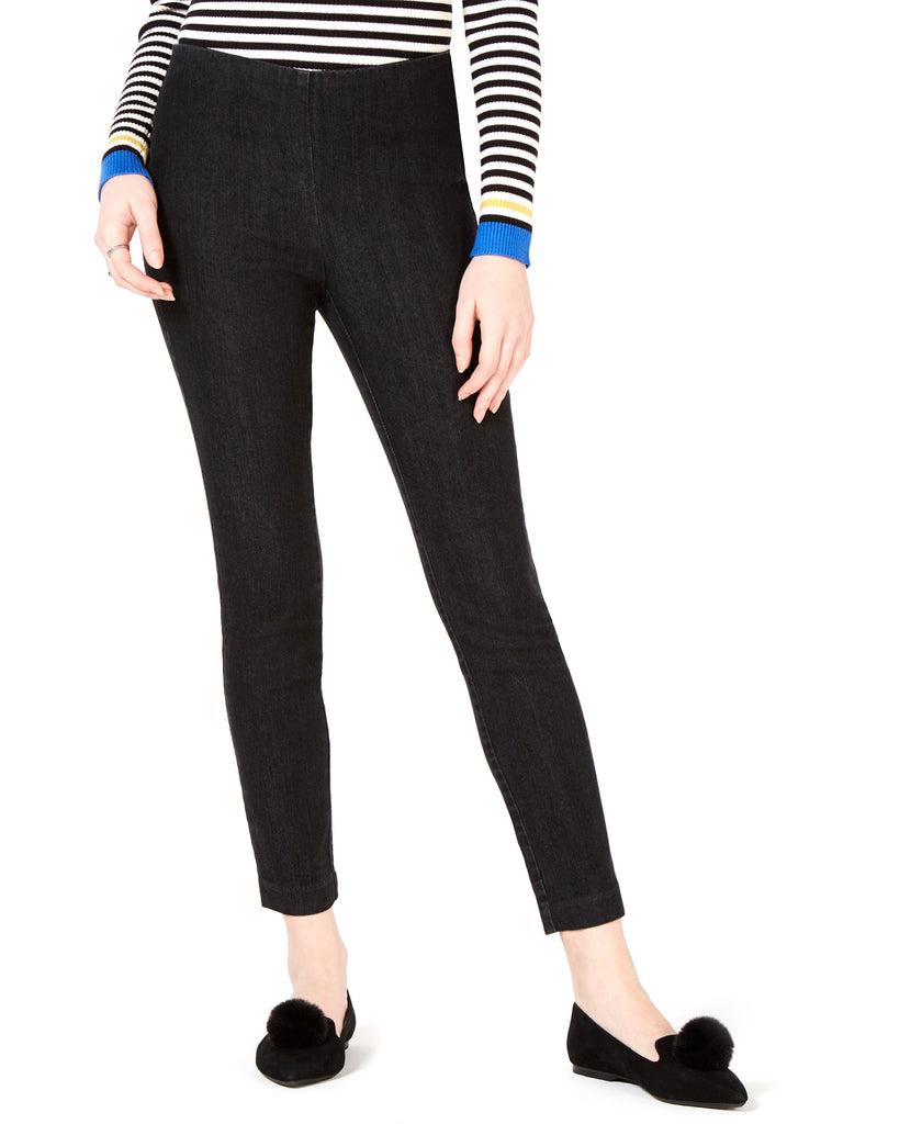 Yieldings Discount Clothing Store's Pull-on Jeggings by Maison Jules in Black Wash