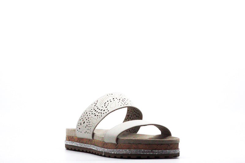 Yieldings Discount Shoes Store's Deanna Sandals by Seven Dials in Bone