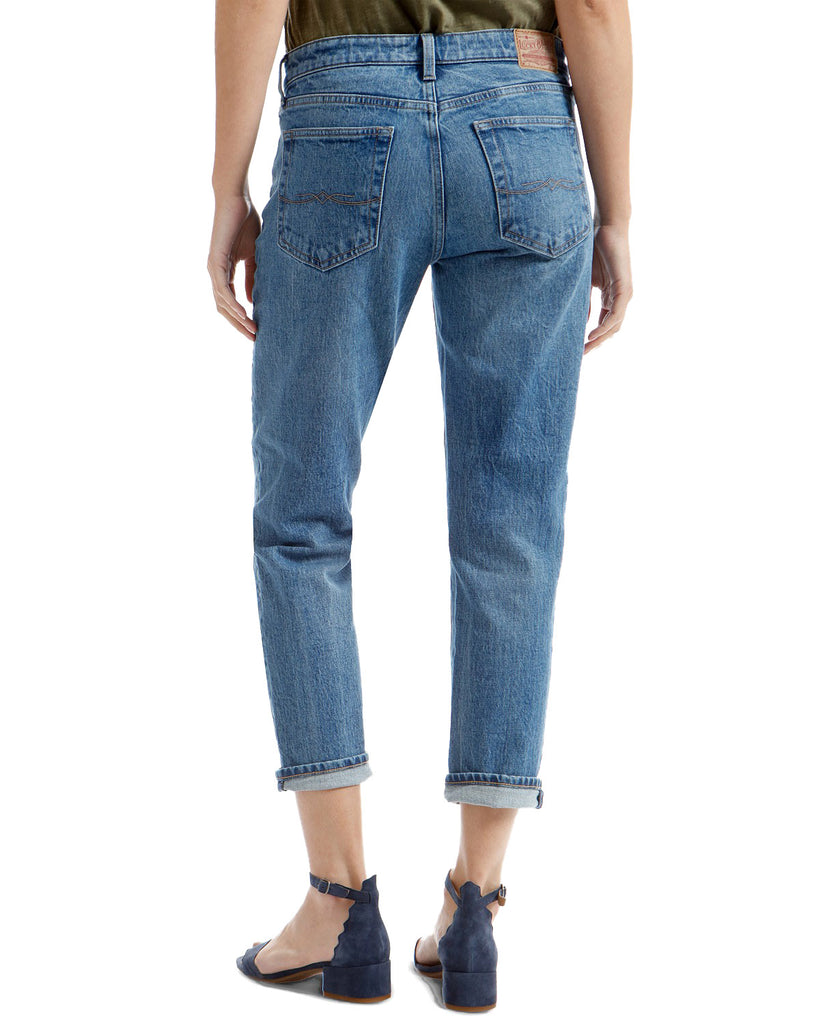 Yieldings Discount Clothing Store's Sienna Slim Boyfriend by Lucky Brand in Blue