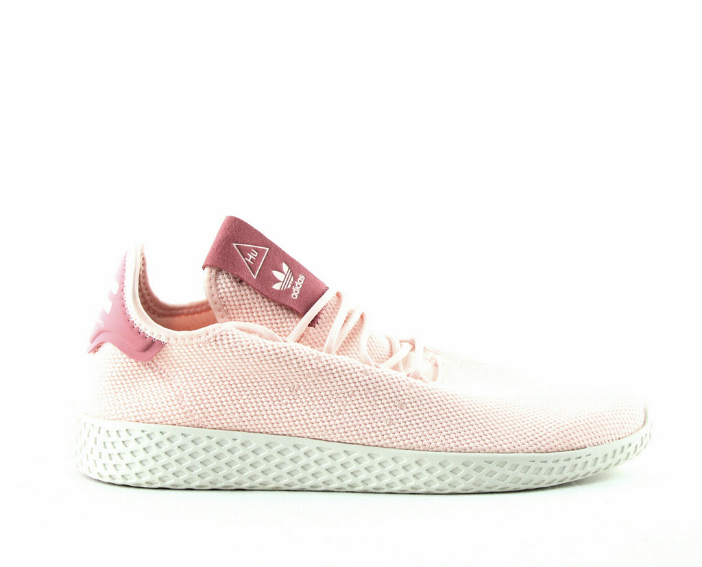 Yieldings Discount Shoes Store's Tennis Hu Athletic Shoes by Adidas by Pharrell Williams in Pink