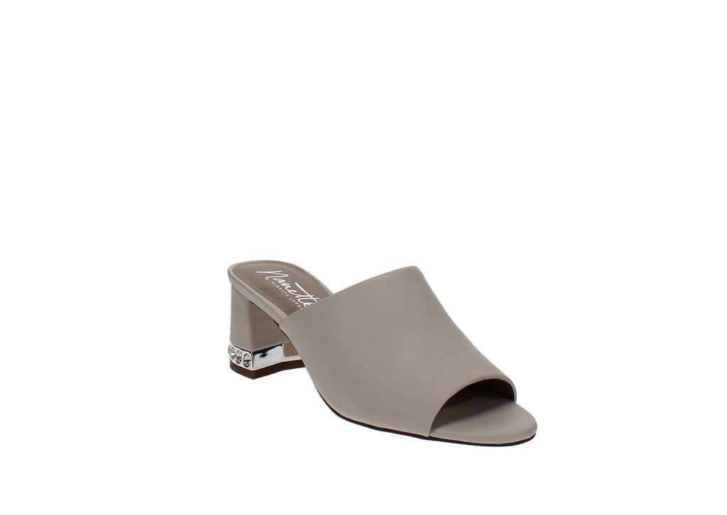 Yieldings Discount Shoes Store's Dani Mules by Nanette Lepore in Parchment