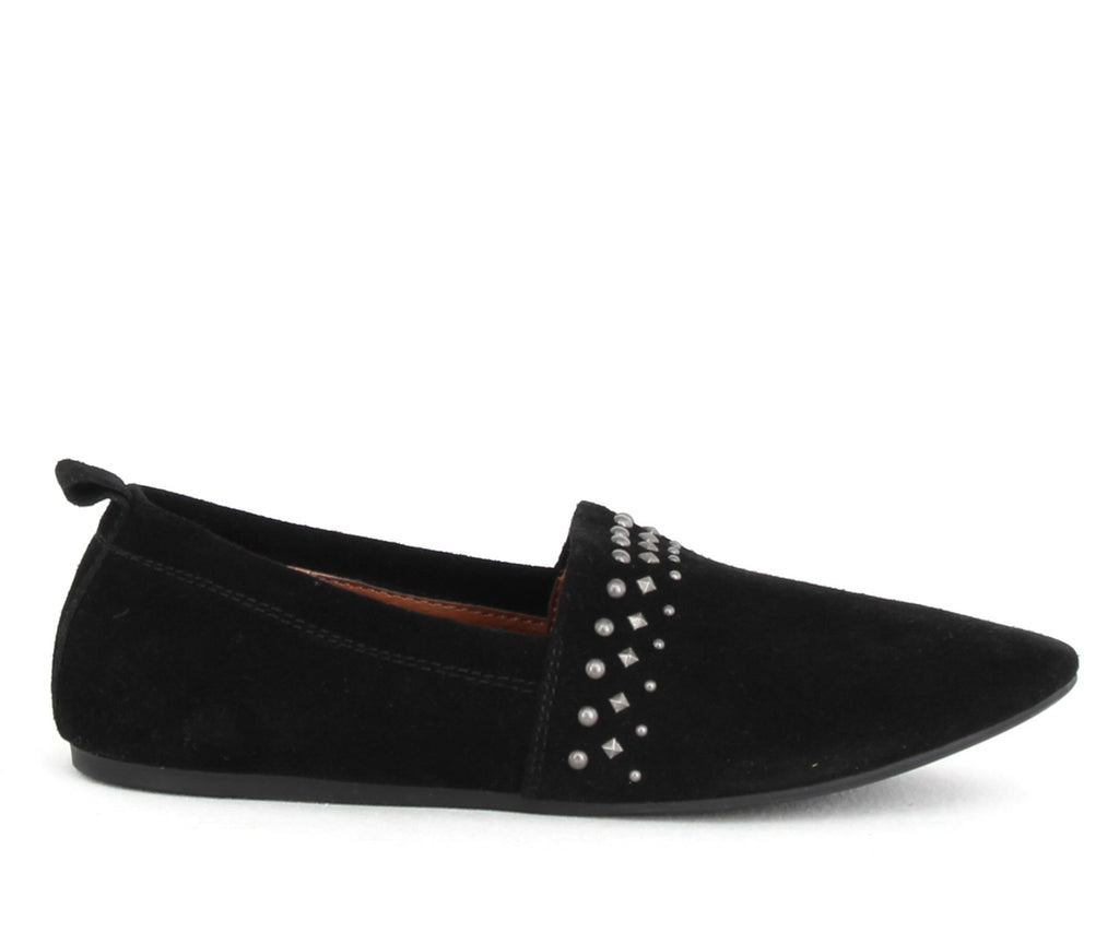 Yieldings Discount Shoes Store's Baako2 Flats by Lucky Brand in Black
