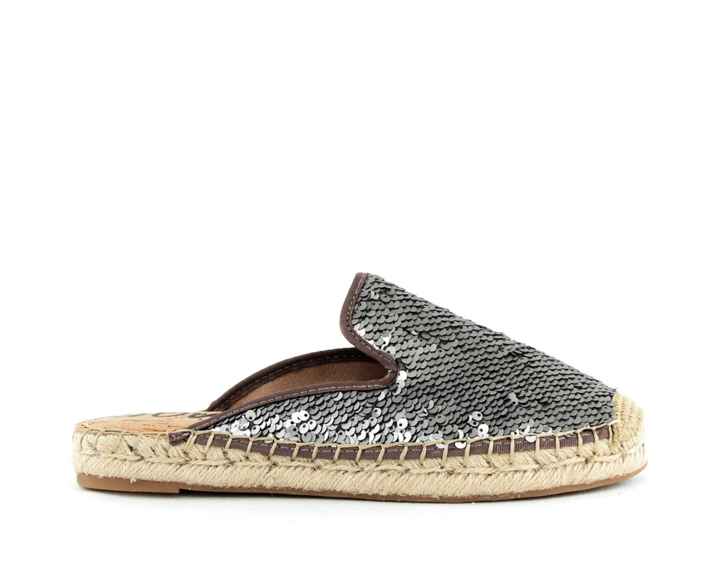 Yieldings Discount Shoes Store's Kerry Mules by Sam Edelman in Pewter