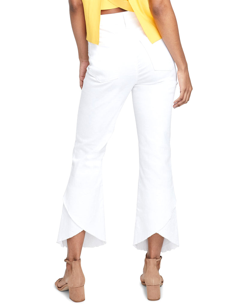 Yieldings Discount Clothing Store's Frayed Ankle Jeans by RACHEL Rachel Roy in White Rinse