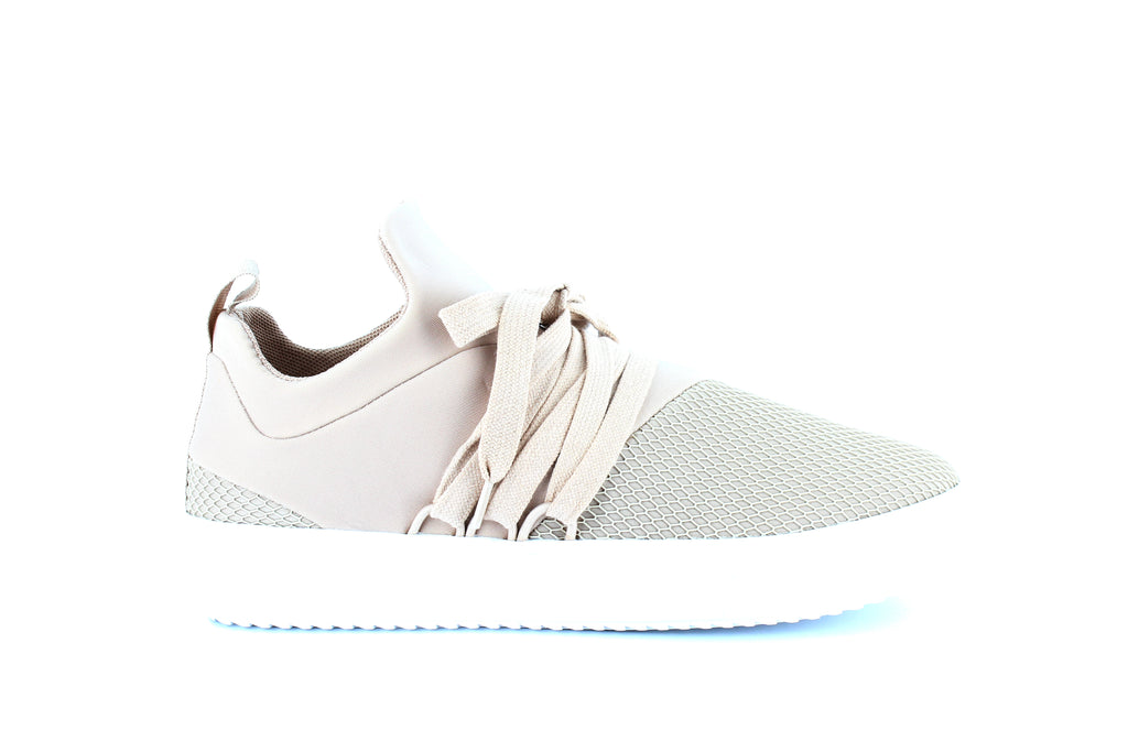 Yieldings Discount Shoes Store's Lancer Sneakers by Steve Madden in Blush