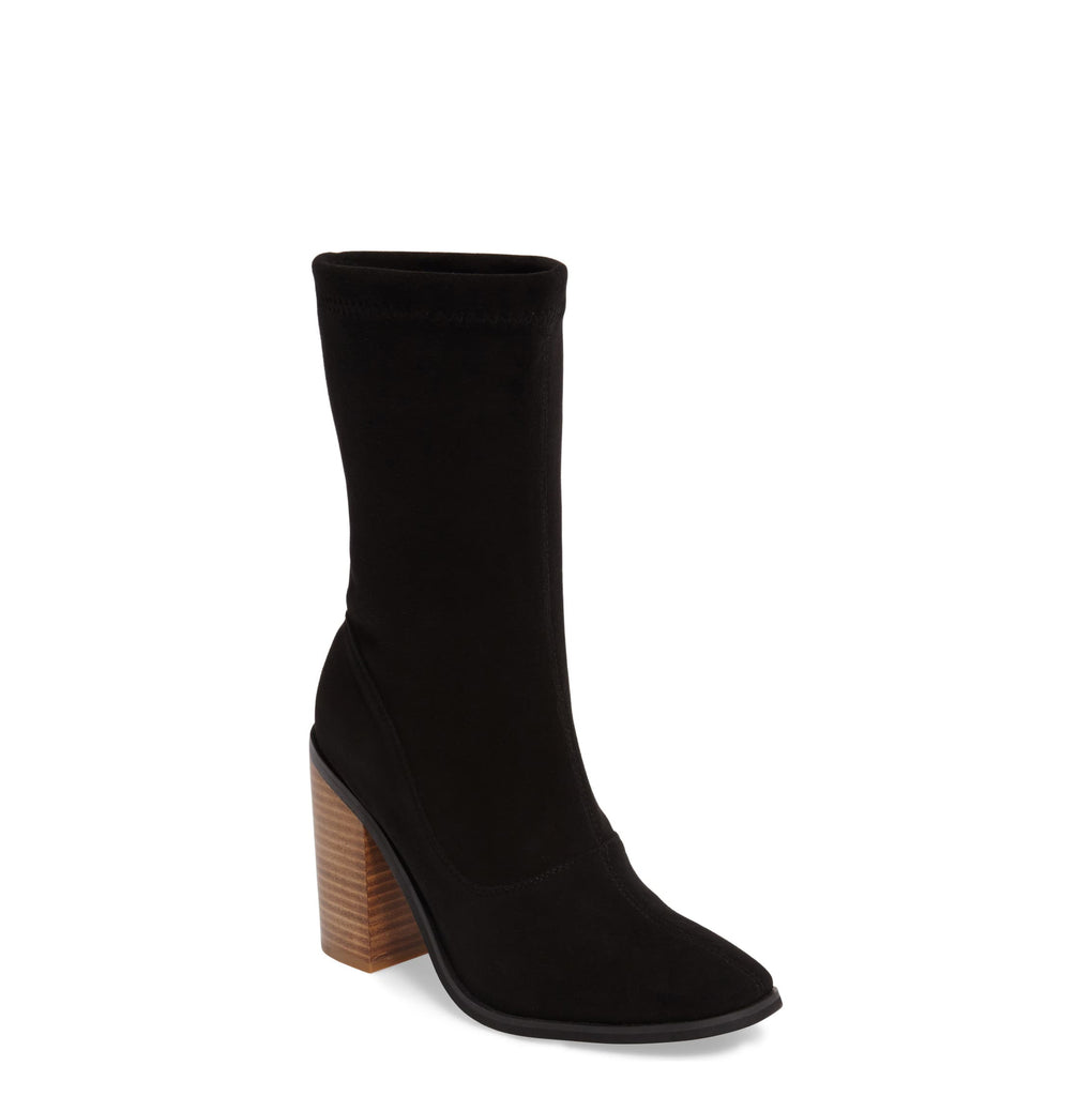 Yieldings Discount Shoes Store's Chloe Boots by Sol Sana in Black