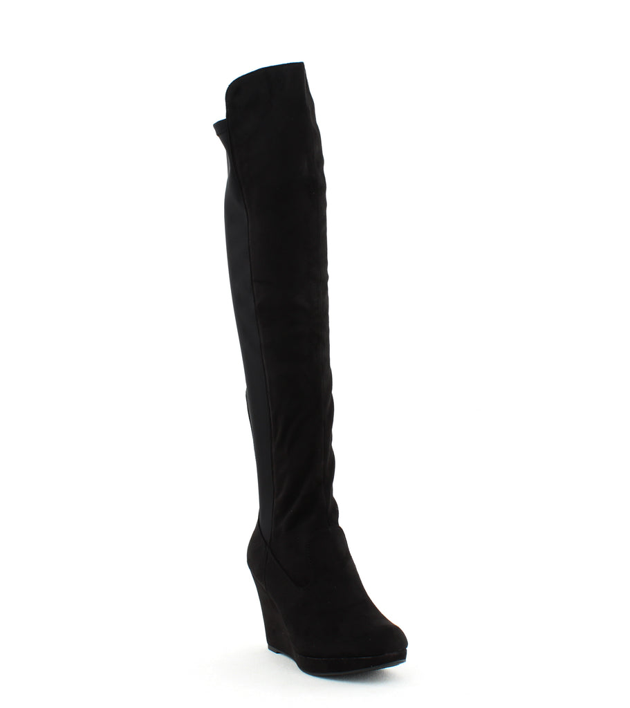 Chinese Laundry | Lavish Over The Knee Wedge Boots