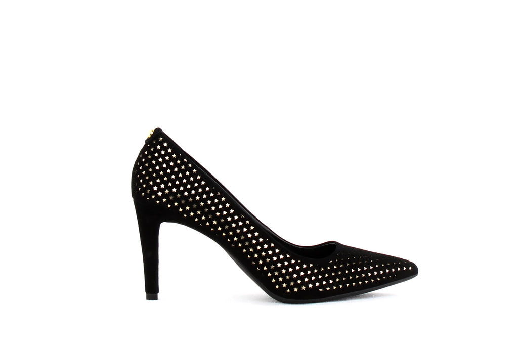 Yieldings Discount Shoes Store's Dorothy Flex Pump by MICHAEL Michael Kors in Black