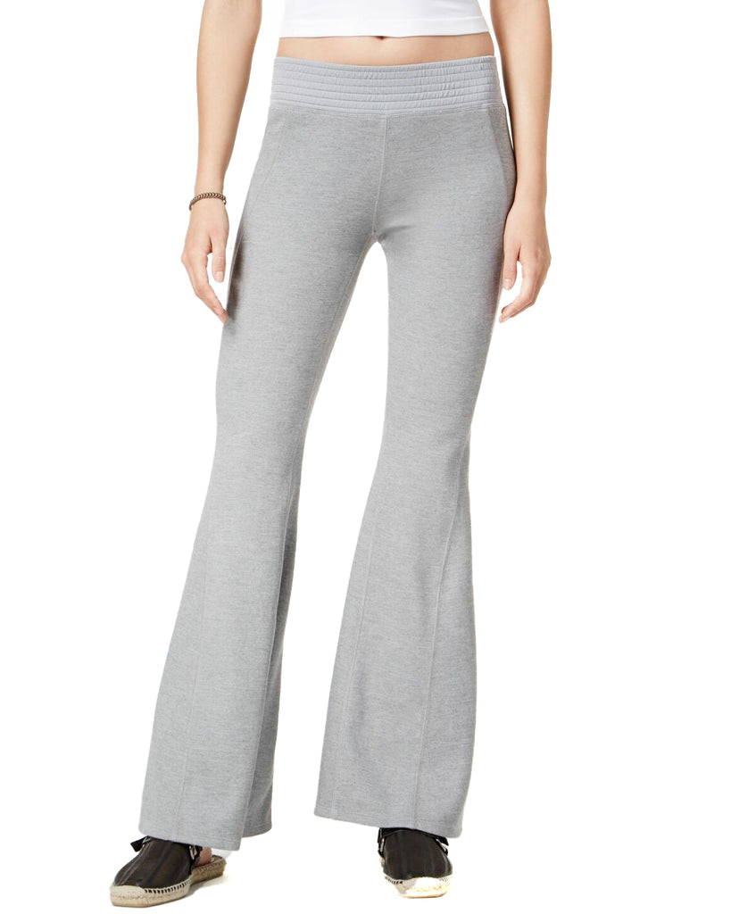 Yieldings Discount Clothing Store's Attitude Pull-on Leggings by Free People in Light Grey