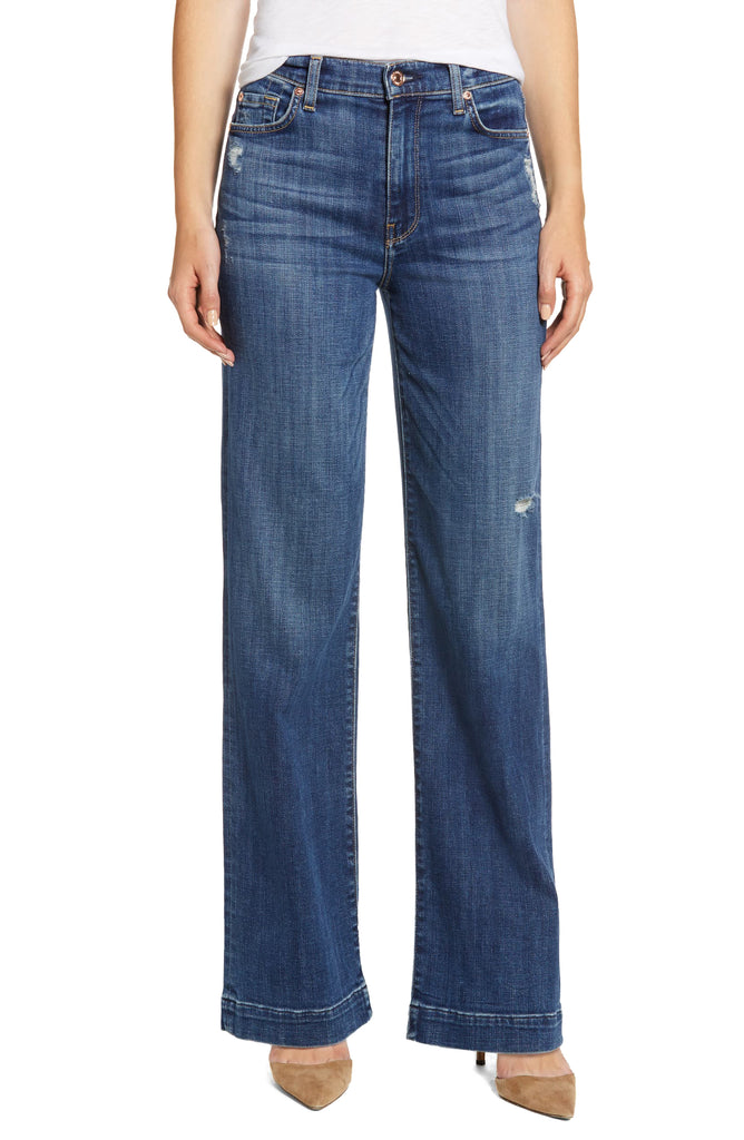 7 For All Mankind | Alexa Wide Leg Jeans