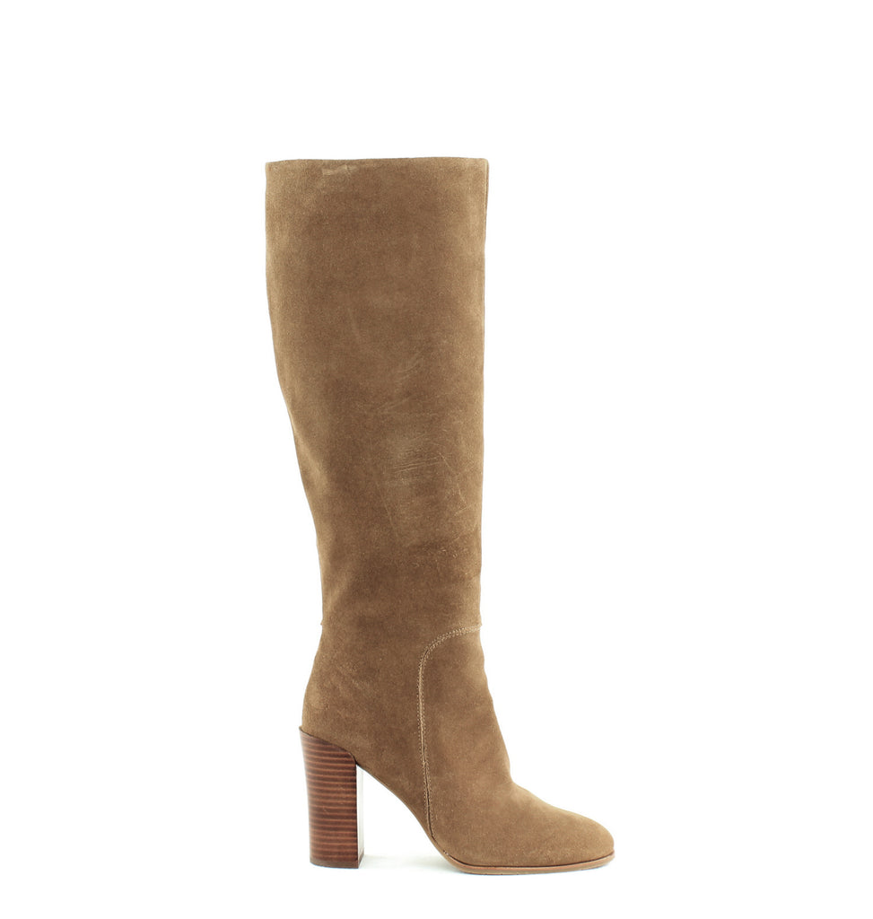 Yieldings Discount Shoes Store's Justin Knee High Boots by Kenneth Cole in Desert