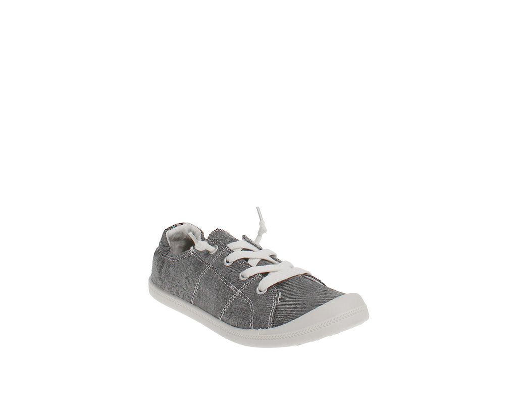 Yieldings Discount Shoes Store's Baailey Soft Sneaker by Madden Girl in Black Cham