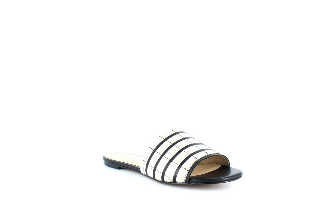 Yieldings Discount Shoes Store's Marley Flat Sandals by Botkier in Black Multi