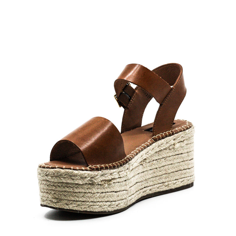 Aqua | Rowan Leather Wedge Sandals