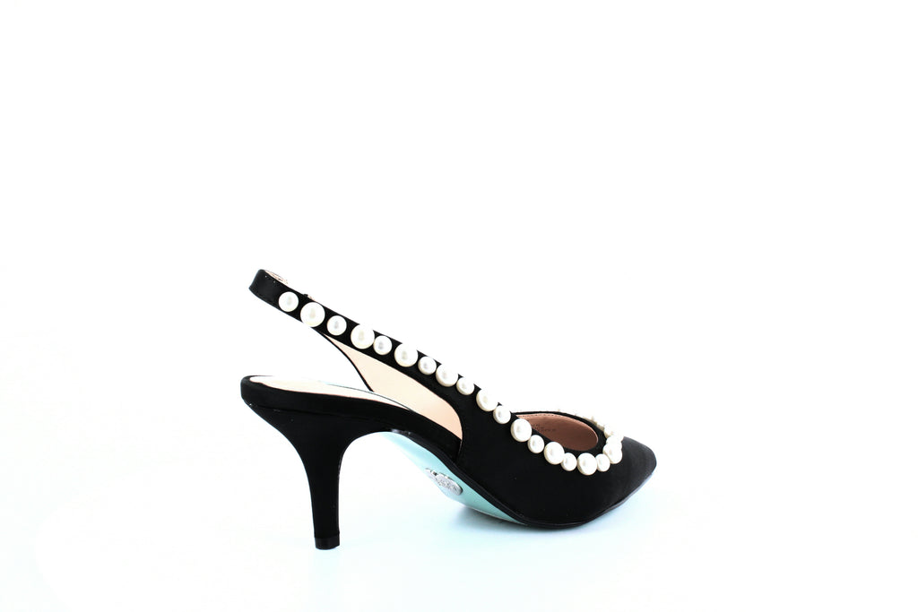 Yieldings Discount Shoes Store's Isa Pumps by Blue By Betsey Johnson in Black