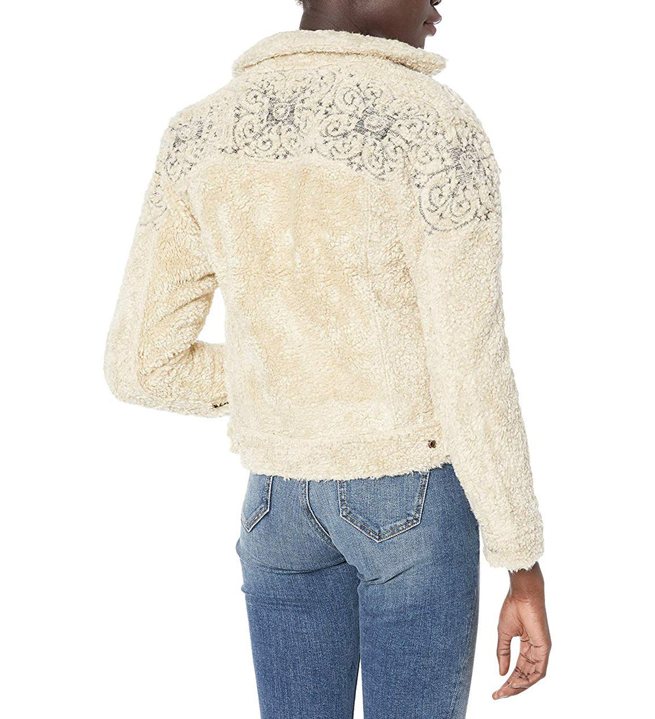 Lucky Brand | Faux-Fur Trucker Jacket