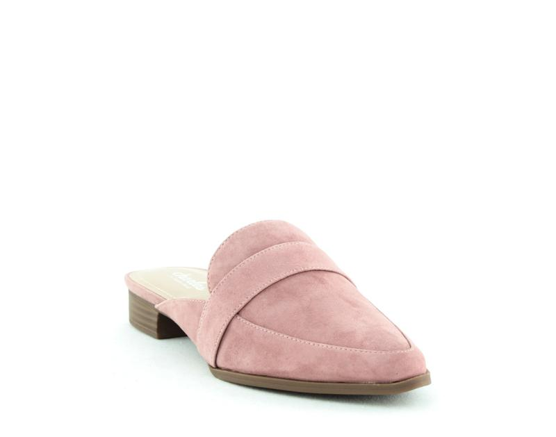 Yieldings Discount Shoes Store's Emma Tailored Mules by Charles By Charles David in Dark Mauve