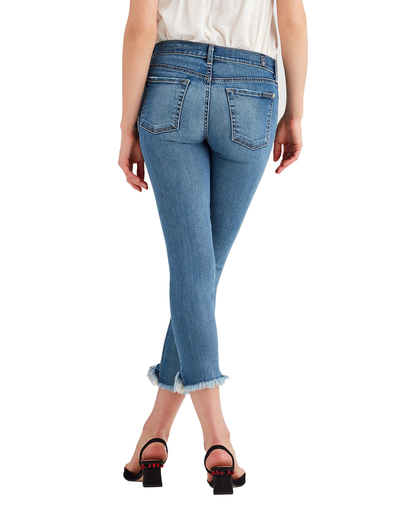 Yieldings Discount Clothing Store's Roxanne Ankle Jeans by 7 For All Mankind in Cany
