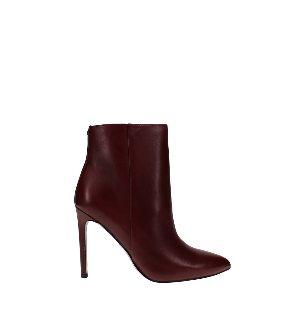 Yieldings Discount Shoes Store's Wren Dress Booties by Sam Edelman in Cabernet