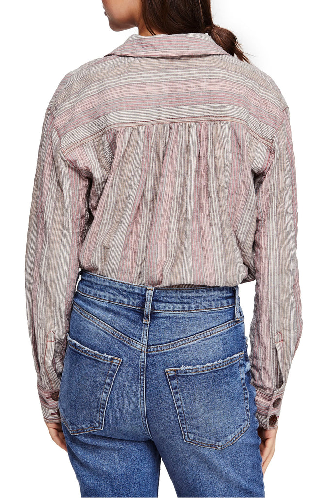 Free People | High Tide Striped Shirt