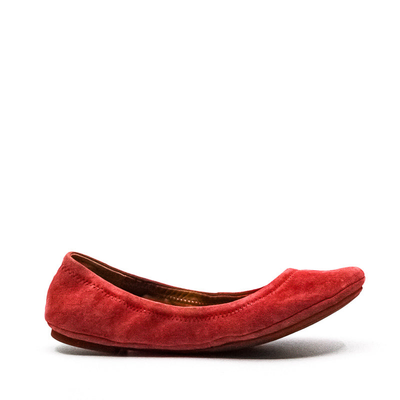 Yieldings Discount Shoes Store's Emmie Ballet Slippers by Lucky Brand in Canyon Rose
