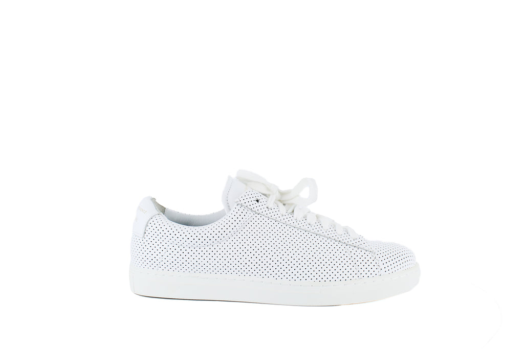 Zespà | Perforated Low-Top Sneakers