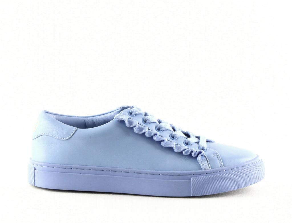 Yieldings Discount Shoes Store's Ruffle Sneakers by Tory Sport in Ace Blue