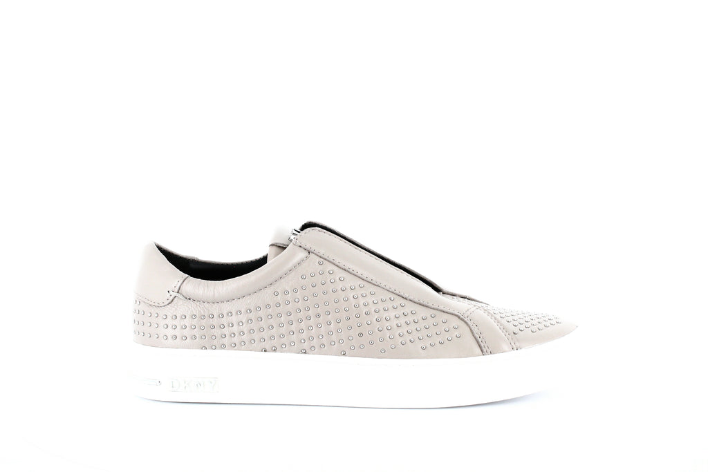 Yieldings Discount Shoes Store's Conner Slip-On Sneakers by DKNY in Taupe