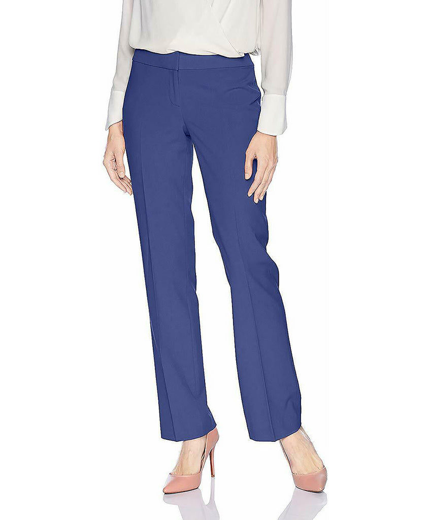 Yieldings Discount Clothing Store's Straight-Leg Pants by Nine West in Night Sky