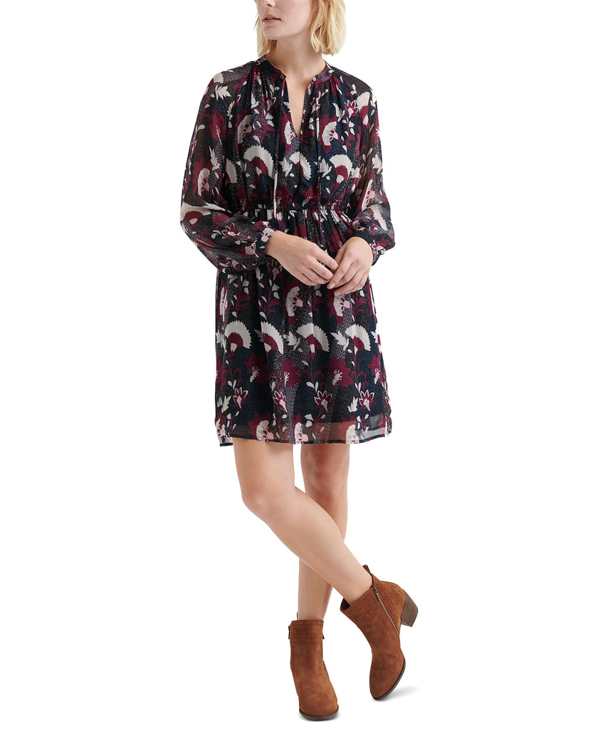 Lucky Brand | Floral-Print Peasant Dress